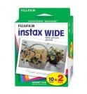 Fujifilm instax wide film packs de 2 - Películas para cámaras instax, 2x10 exposiciones