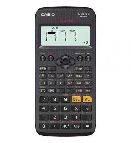 Casio FX-82SP X - Calculadora científica, 274 funciones, pantalla LCD, alta resolución, color Negro