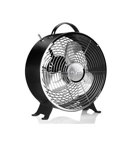 TRISTAR VE5966 - Ventilador retro, moderno, 25cm de diámetro, 2 posiciones, asa integrada