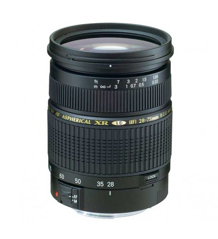 Tamron SP AF 28-75mm F/2.8 XR Di LD Aspherical [IF] MACRO - Objetivo, para Canon, (A09E)