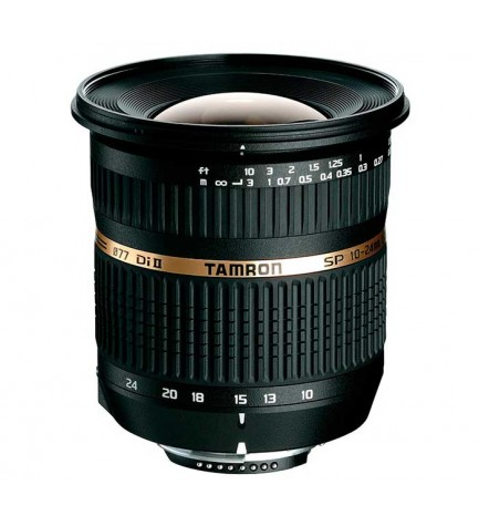 Tamron SP AF 10-24mm F/3.5-4.5 Di II LD Aspherical [IF] - Objetivo, para Canon, ultra gran angular, (B001E)