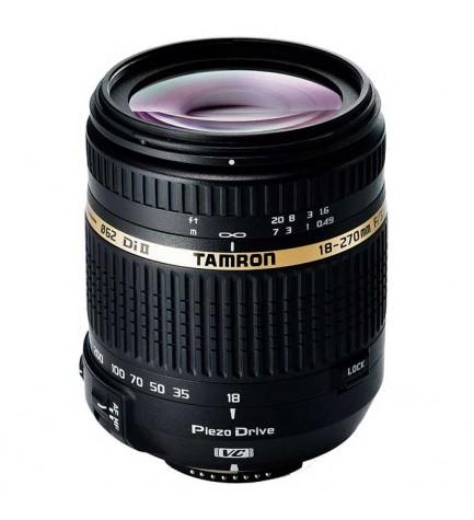 Tamron SP AF 18-270mm F/3.5 -6.3 Di II VC PZD - Objetivo, para Nikon, (B008N)