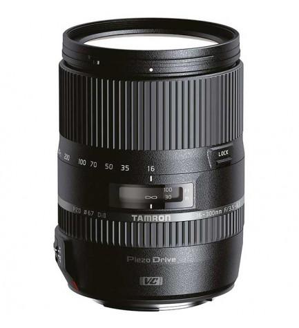 Tamron 16-300mm F/3.5-6.3 Di II VC PZD MACRO - Objetivo, para Nikon, (B016N)