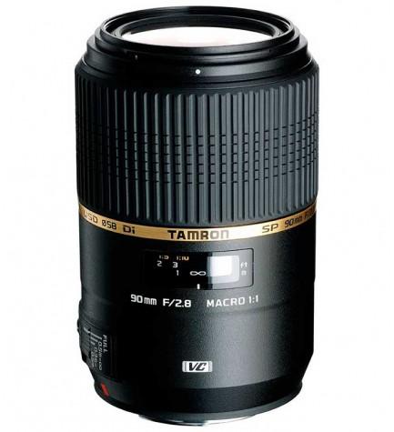 Tamron SP AF 90mm F/2.8 Di VC USD MACRO 1:1 - Objetivo, para Canon, (F004E)