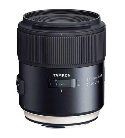 Tamron SP AF 45mm F/1.8 Di VC USD - Objetivo, para Nikon, (F013N)