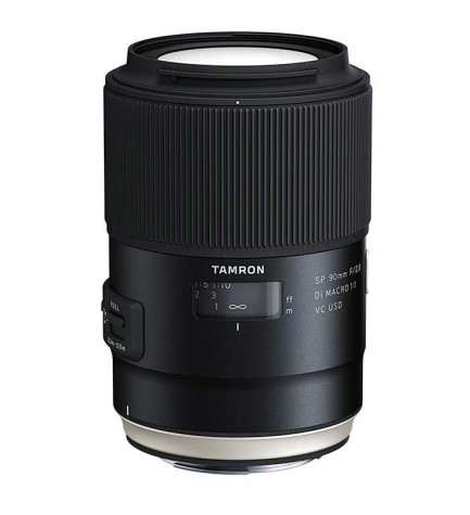 Tamron SP AF 90mm F/2.8 Di MACRO 1:1 VC USD - Objetivo, para Nikon, (F017N)