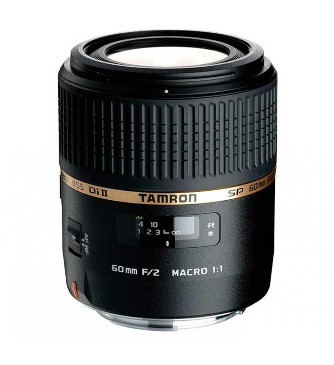 Tamron SP AF 60mm F/2.0 Di II LD [IF] Macro 1:1 - Objetivo, para Nikon, (G005NII)