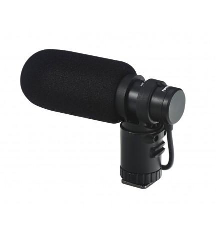 FUJIFILM MIC-ST1 - Micrófono externo compatible con Fujifilm X-T1, X-E2, X-E1, X100S, X20, X-S1, Finepix HS50, Color Negro