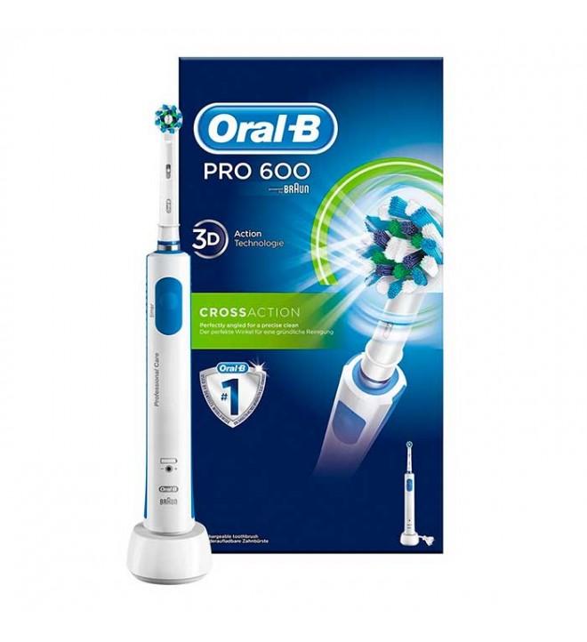 Oral-B PRO 600 - Cepillo eléctrico sensor de presión Tenerife Canarias fead79b18c41