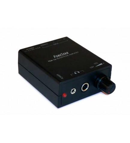 Fonestar FDA-1A - Amplificador de auriculares, control de volumen