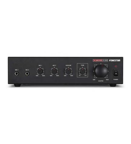 Fonestar FS-2020 - Amplificador de megafonía, indicados para instalaciones comerciales, sonorizaciones y audio distribuido