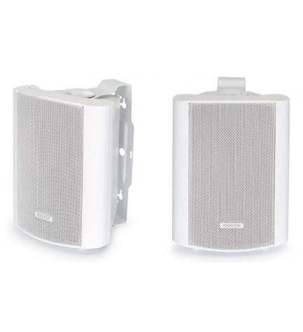 Fonestar PRISMA-42B - Parejas de bafles Hi-Fi, baja impedancia, diseño triangular