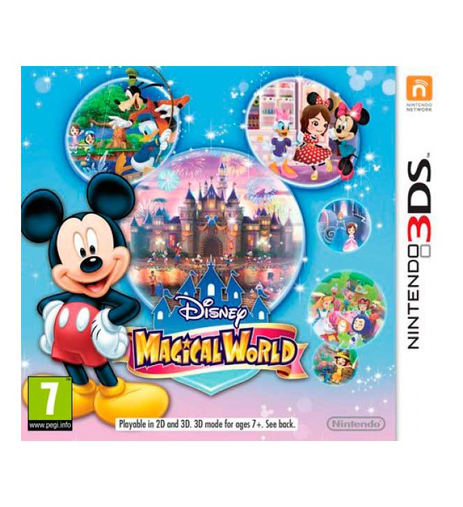 Nintendo disney magical world videojuego 2228081 for Crea tu mural disney