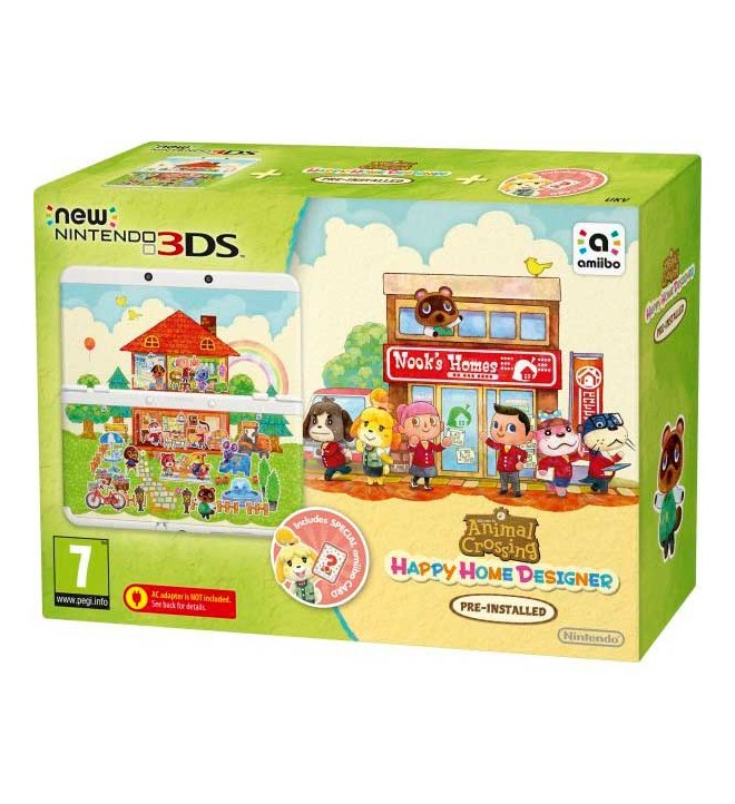 Nintendo New 3ds Animal Crossing Happy Home Designer Consola 2207599