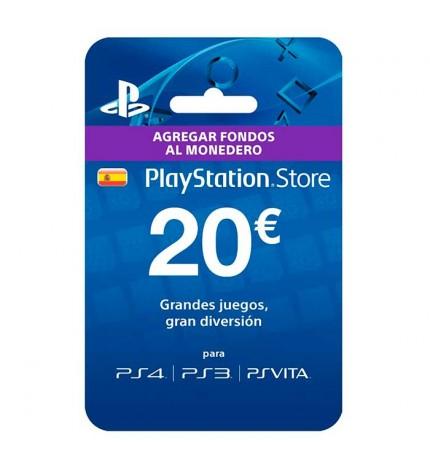 Sony Live Card 20 - Tarjeta prepago, compra juegos, peliculas y mucho más, agrega fondos a tu cuenta Playstation Network