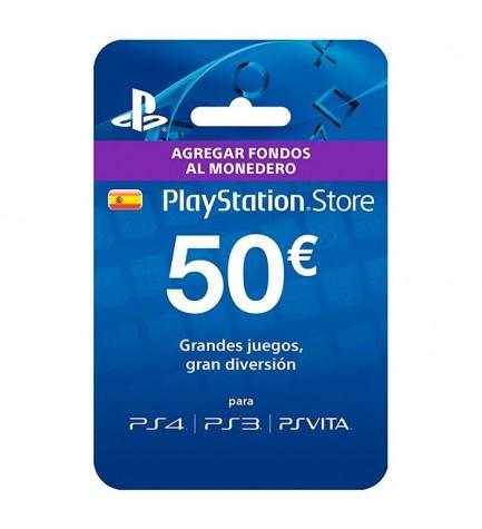 Sony Live Card 50 - Tarjeta prepago, compra juegos, peliculas y mucho más, agrega fondos a tu cuenta Playstation Network