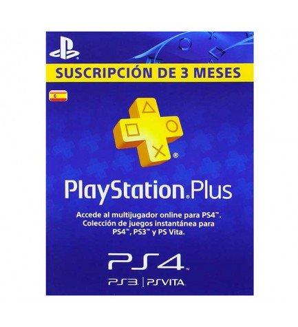 Sony Network 90 días - Tarjeta de suscripción, PlayStation Plus 3 meses, multijugador, social y centro de descargas