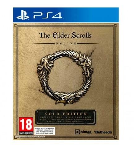 The Elder Scrolls Online Gold Edition - Videojuego PS4, incluye juego, cuatro expansiones, objetos, edicion especial