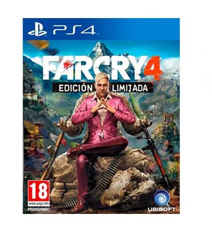 Far Cry 4 Edición Limitada - Videojuego PS4, explora y navega este gigantesco mundo de juego