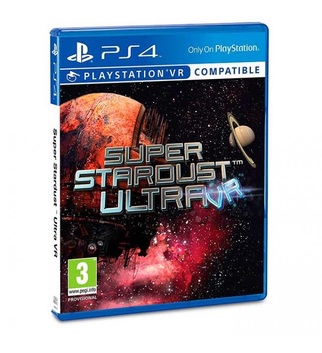 Super Stardust VR - Videojuego VR PS4, pon tus ojos en las estrellas, ahora la guerra intergaláctica es personal