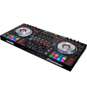 Pioneer DDJ-SZ - Controladora, diseñado para profesional, cuatro canales, grandes jogs de aluminio, Serato DJ, color Negro