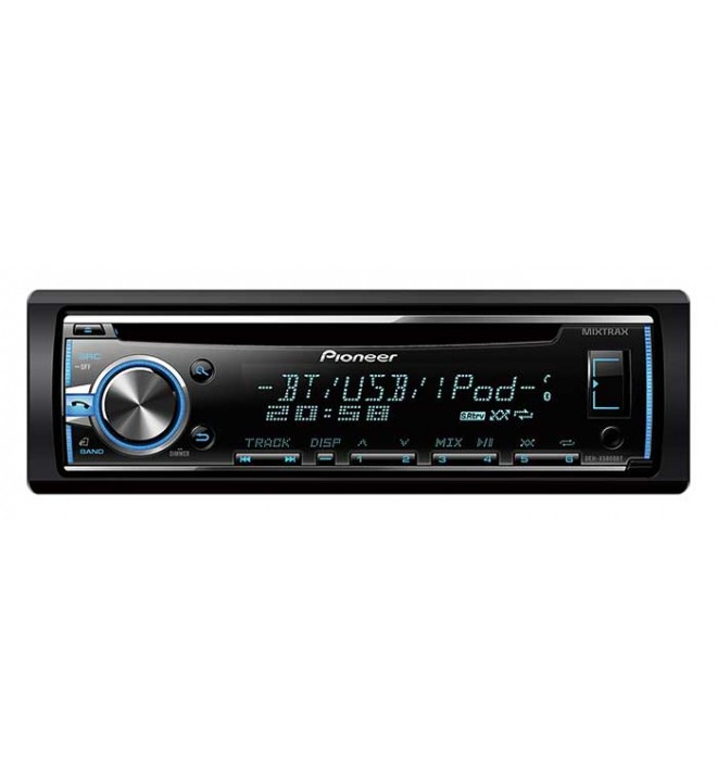 Pioneer DEH-HX5800BT - Autoradio, CD, sintonizador RDS, bluetooth, entrada AUX, USB, RGB, control iPod, iPhone, Android