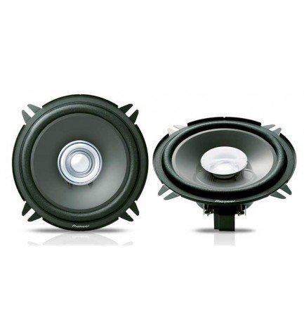 Pioneer TS-1301I - Altavoz de coche, preinstalación, doble membrana, potencia 130w, alta calidad de sonido