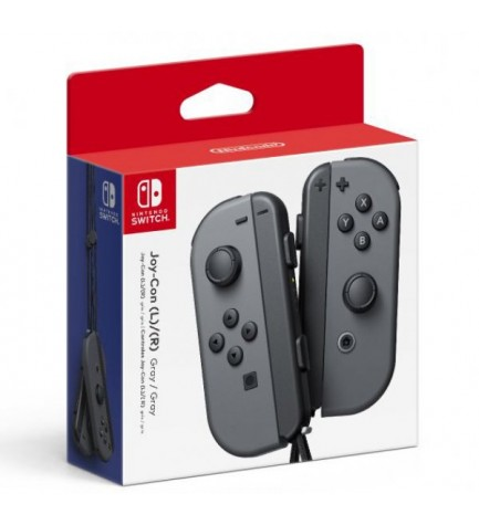 Nintendo Joy-Con - Mandos, incluye izquierdo y derecho, color Gris