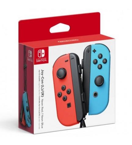 Nintendo Joy-Con - Mandos, incluye izquierdo y derecho, color Azul y Rojo