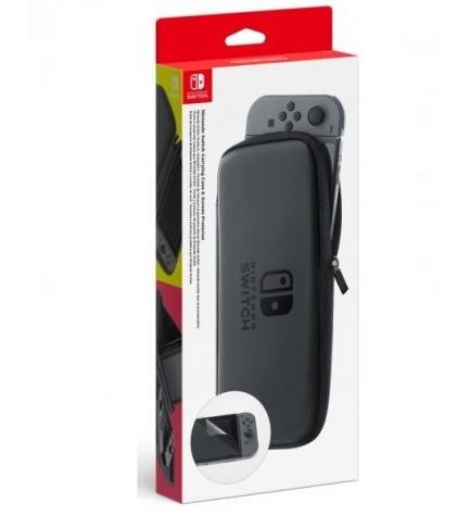 Nintendo Set Accesorios - Funda y protector LCD, la mejor protección para tu consola,