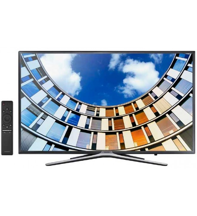 Samsung M5505 - Televisor, 43 pulgadas, Smart TV, mando Smart con Voice, bluetooth, TDT2, diseño Slim