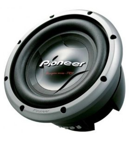 Pioneer TS-W3002D4 - Subwoofer, diámetro 12 pulgadas, doble bobina 4 ohmios, potencia máxima 3500w