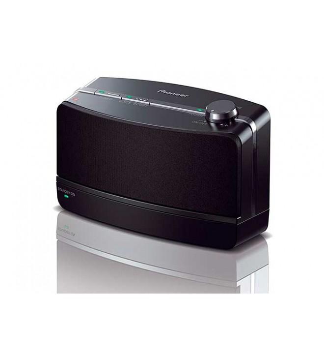 Pioneer VMS-550 - Sistema de altavoces inalámbricos, diseñado para TV, transmisión inalámbrica de aproximadamente 30 metros
