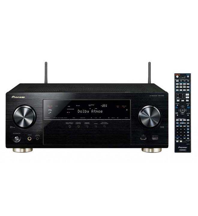 Pioneer VSX-930 - Receptor AV, 7.2 canales, Dolby Atmos, escalado 4K Ultra HD, Spotify Connect, WiFi, Bluetooth
