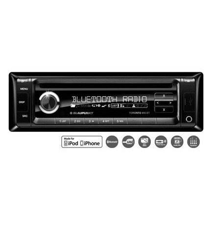 Blaupunkt Toronto 410 EU - Autoradio CD, USB, Bluetooth