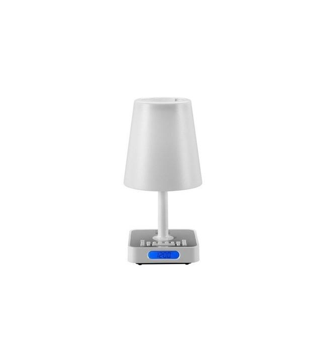 Audiosonic cl 500 despertador l mpara fm blanco - Lamparas tenerife ...