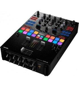 Pioneer DJM-S9 - Mesa de mezclas, 2 canales, diseñada para Serato DJ, filtro FX, performance pads, color Negro