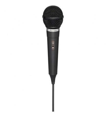 Pioneer DM-DV10 - Micrófono dinámico, alto rendimiento, conmutador de habla con contactos dobles