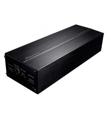Pioneer GM-D1004 - Amplificador, 400w, 4 canales, TVC, sensor de entrada, instalación fácil, muy compacto