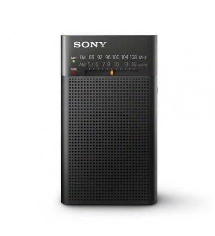 Sony ICF-P26 - Radio, sintonizador AM/FM, altavoz incorporado, toma para auriculares dedicada, color Negro