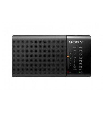 Sony ICF-P36 - Radio portátil, sintonizador AM/FM, color Negro