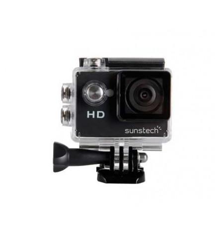 Sunstech ActionCAM5 - Cámara de acción, calidad HD, ultraligera, sumergible, micrófono incorporado, color Negro