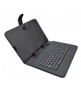 Sunstech KEY - Funda con teclado, 9 pulgadas, material resistente, protección completa, color Negro