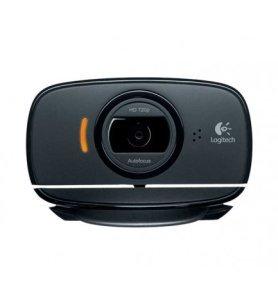 Logitech C525 - Webcam, videoconferencias 720p, autofoco, diseño portable, imágenes nítidas, color Negro