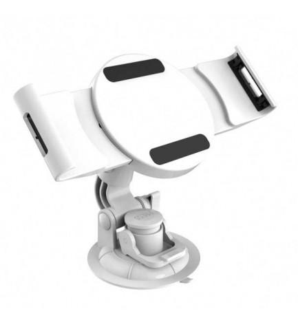 Reflecta 23232 Tabula Car WS - Soporte, de coche, diseñado para tablets de 7 a 11 pulgadas, rotación 360 grados, color Blanco