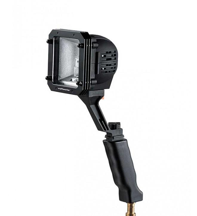 Reflecta 20311 DR 100 - Lámpara, 12 voltios, 7500 mAh, color Negro