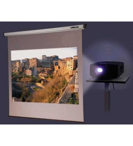 Reflecta 80946 - Pantalla de proyección, dimensiones 240x200 cm