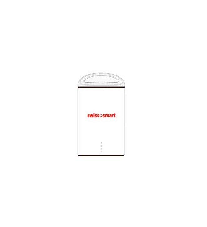 Swiss+Smart Powerbank - Batería externa, capacidad 7500Mah, color Blanco