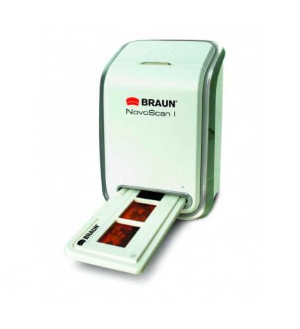 Braun 34510 Novoscan - Escaner, diseñado para negativos