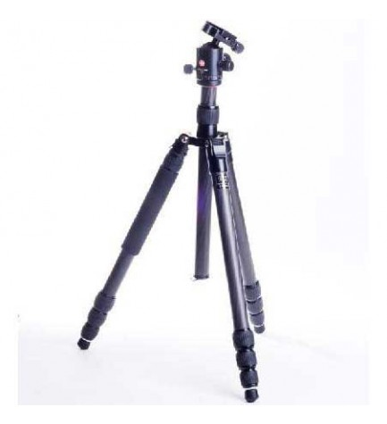 Swiss+Pro C-14 - Trípode, altura máxima 186 cm, color Negro